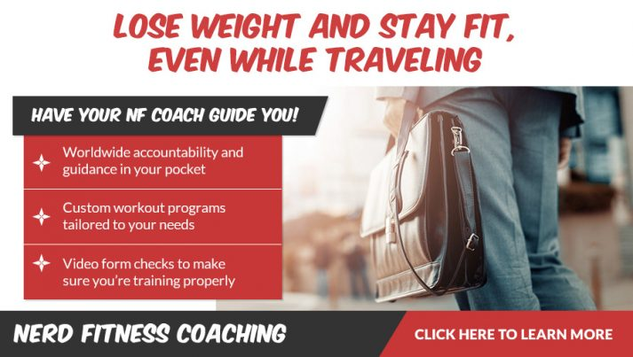 Nerd Fitness Coaching Banner