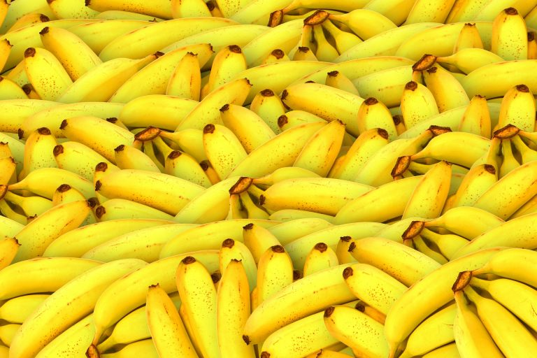 A medium-sized banana will contain roughly 105 calories.