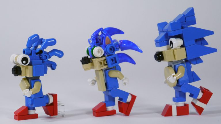 Clearly Sonic knows how to run with proper form.