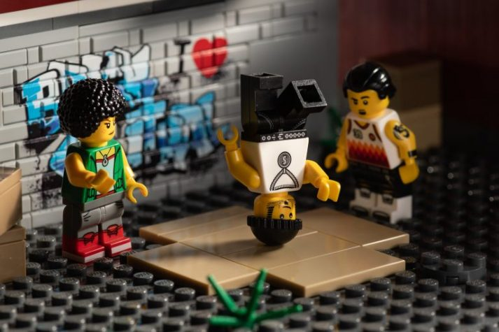 These LEGOS use their bodyweight for their training...it just looks like dancing!