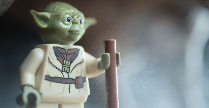Teach you this beginner bodyweight workout, LEGO Yoda will
