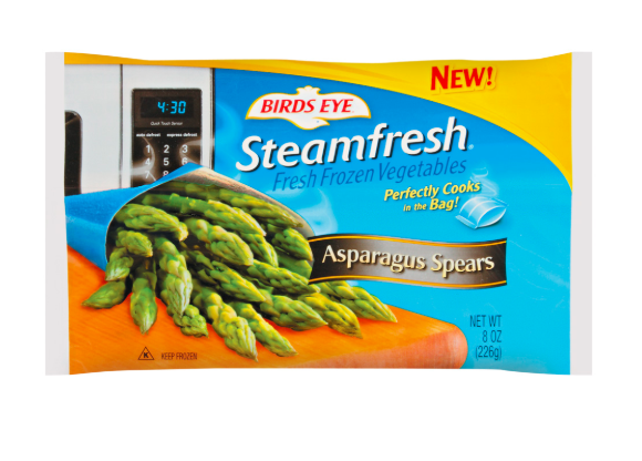 Try frozen steamfresh veggies if you can't buy fresh