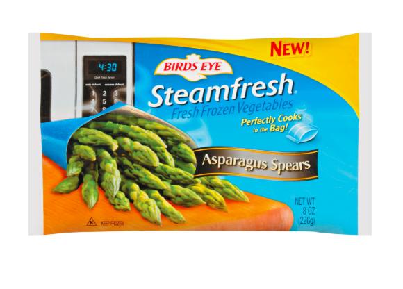 Try frozen steamfresh veggies if you can't buy fresh