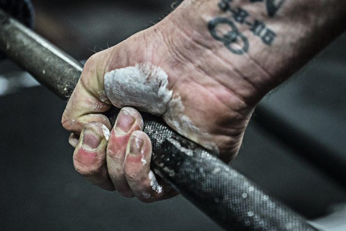 Grip strength is crucial for exercises like the deadlift