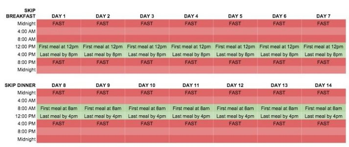 image regarding Deal a Meal Cards Printable identified as Intermittent Fasting For Newbies: Must Oneself Overlook