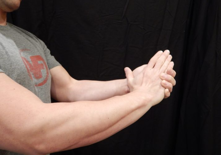 2 pairs Man Hands to mid forearm