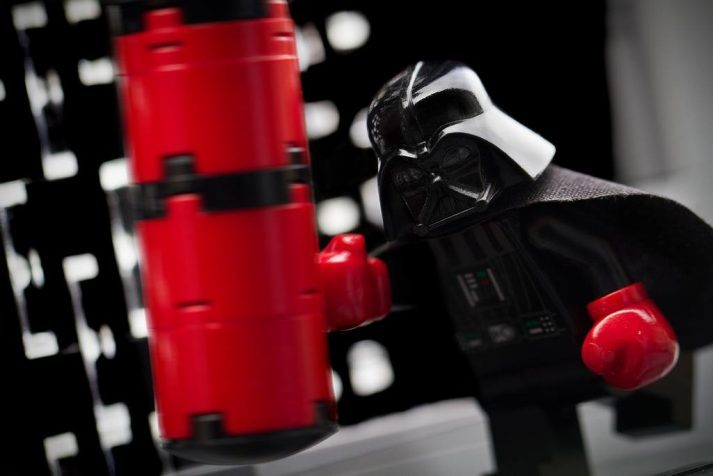 Vader remembers his first day at the gym...he choked out his personal trainer with the force.