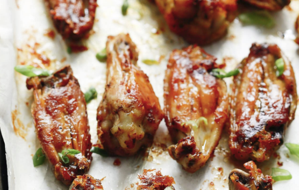 Chicken wings can be a great low carb or paleo friendly snack for healthy eating!