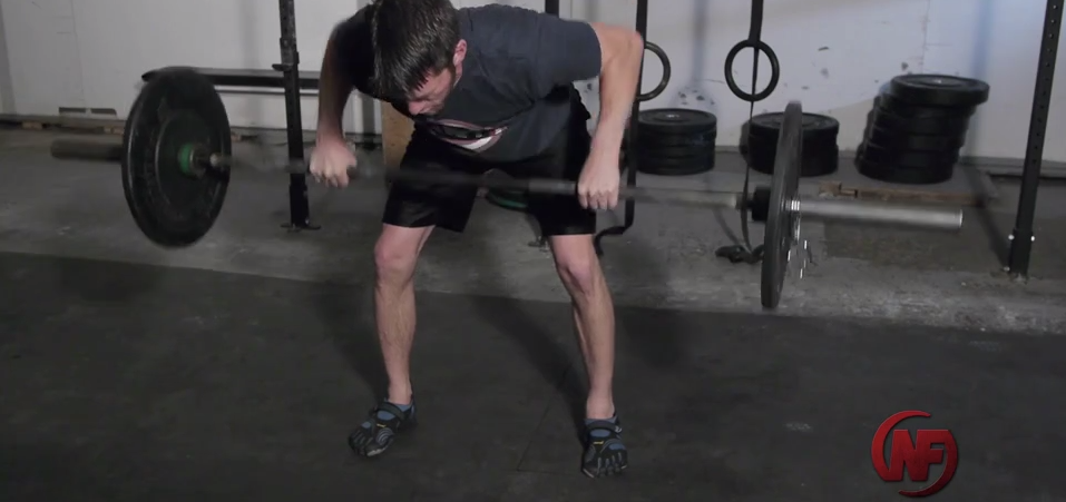 After today, you'll know exactly how to perform the bent-over barbell row!