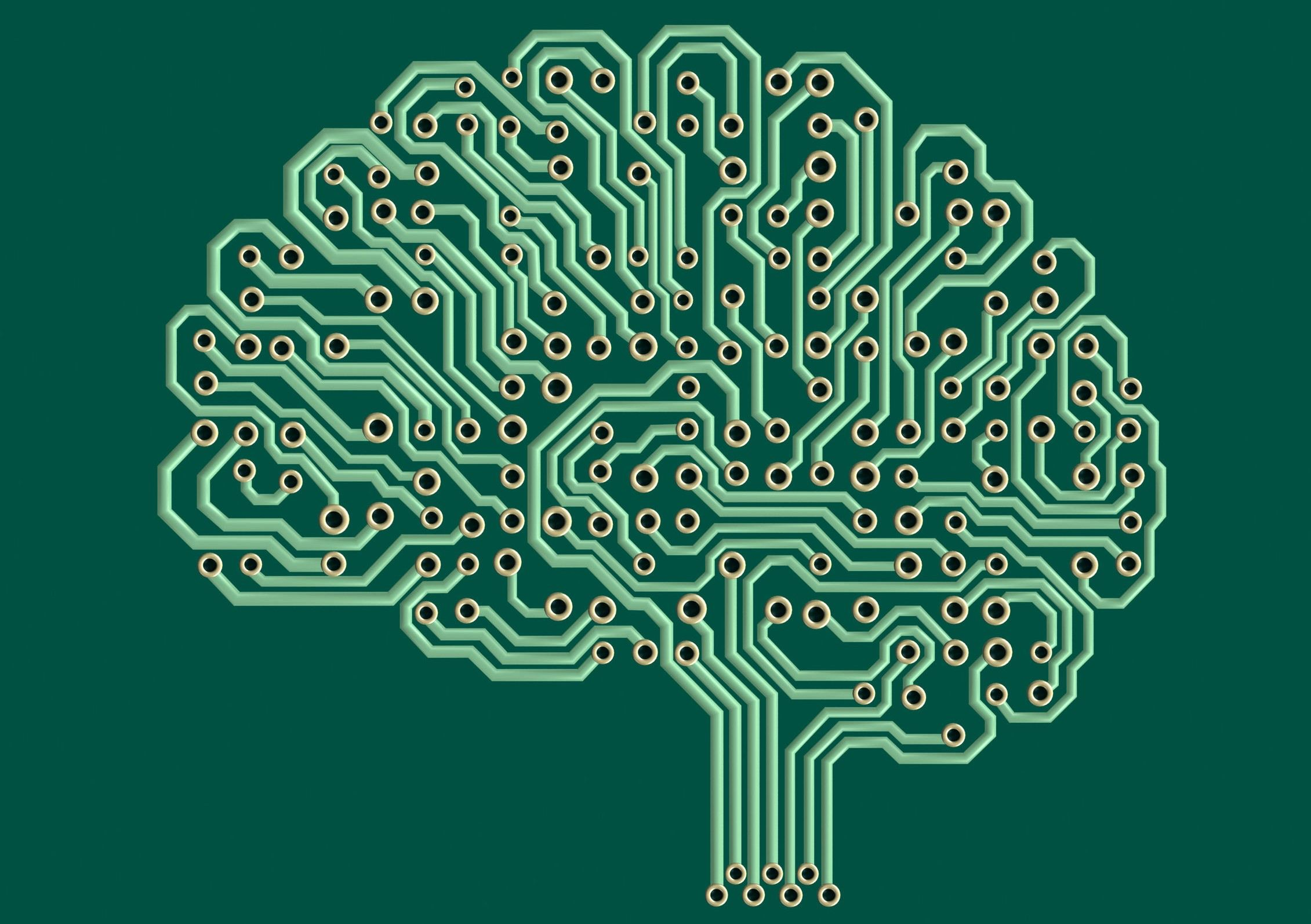 a picture of an Electronic brain