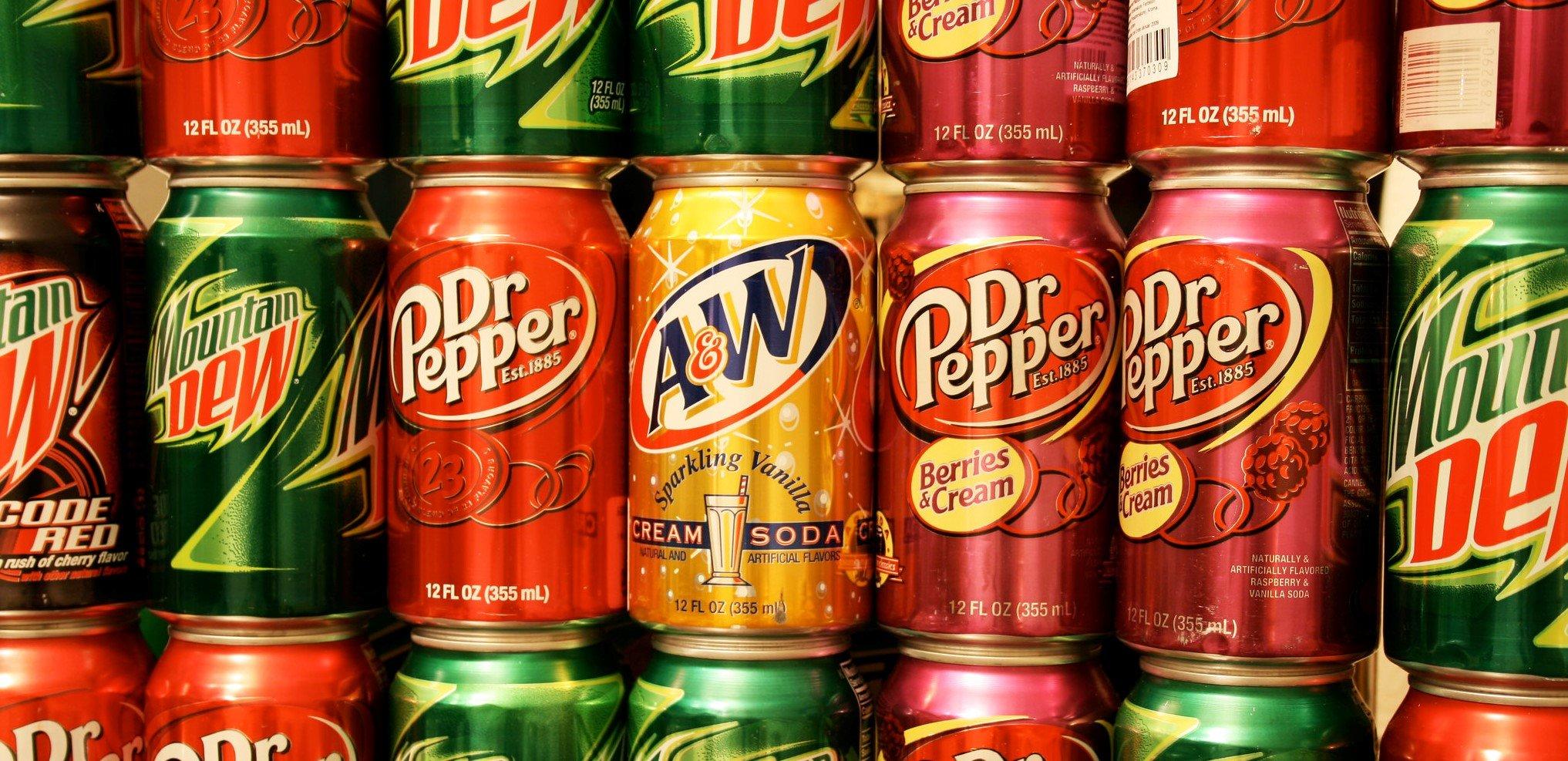 Is drinking soda just like drinking fruit juice?