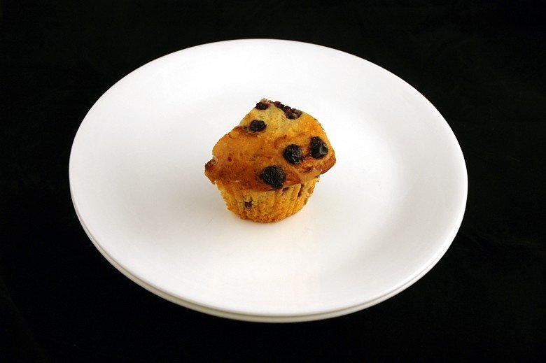 Yeah, you don't even get the whole muffin.