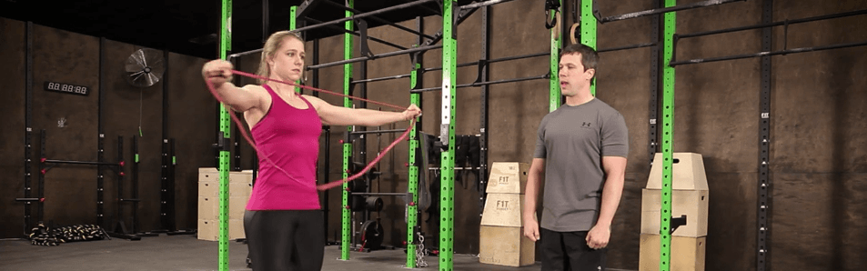 It's now time to show you the best resistance band exercises.