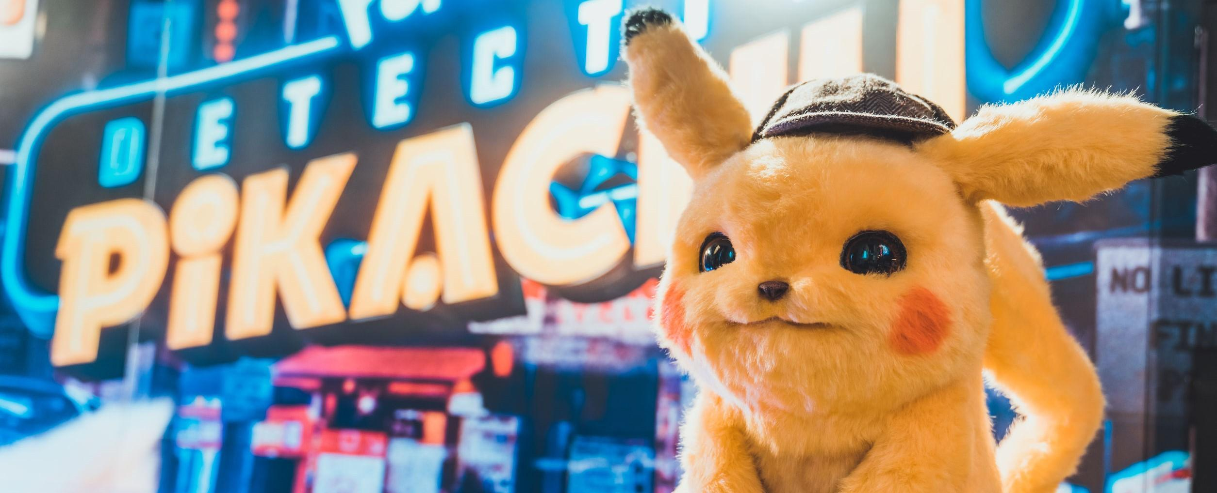 a picture of Detective Pikachu
