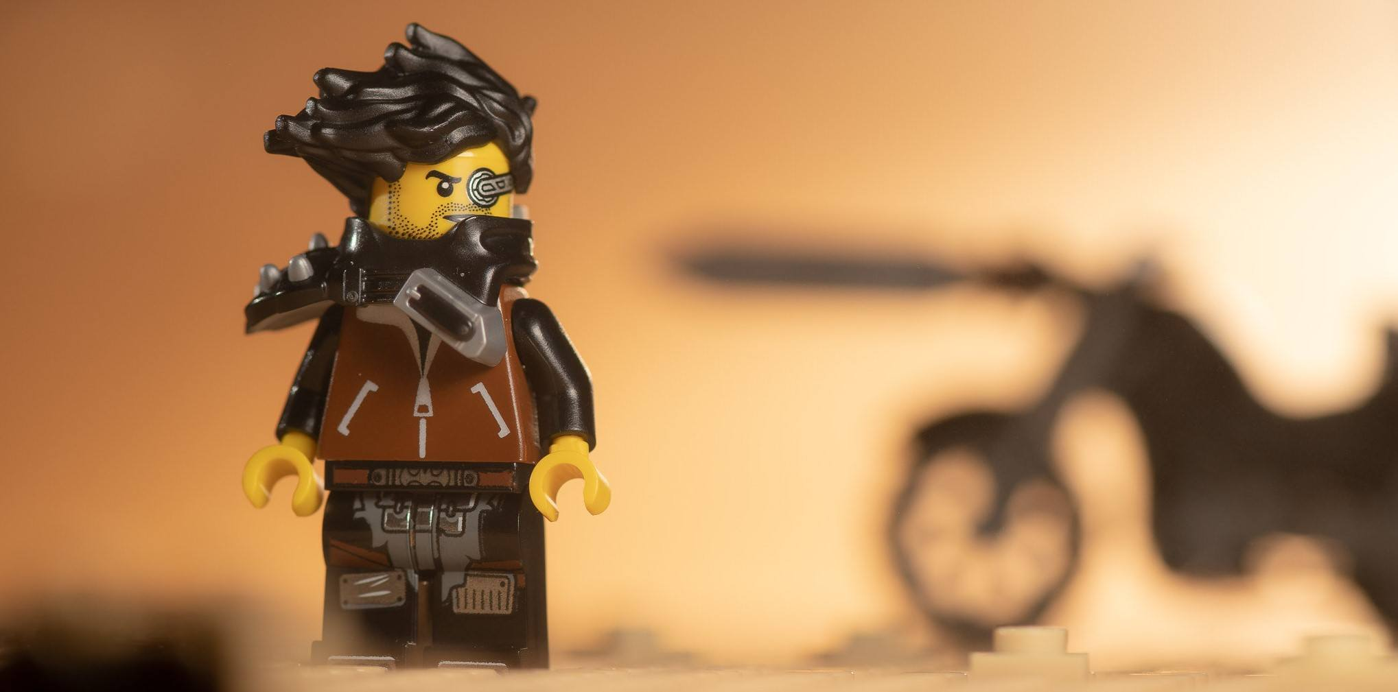 LEGOs in the apocalypse do look cool.