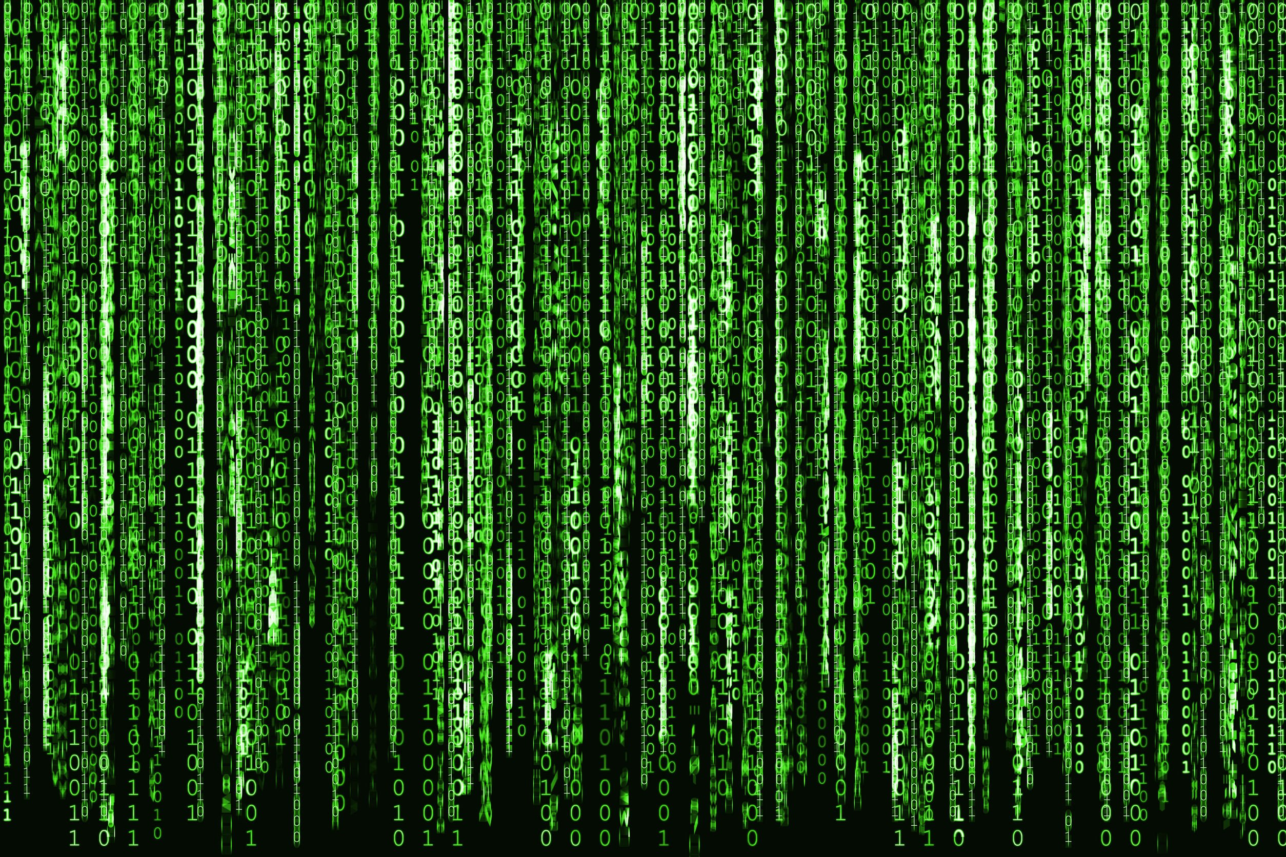 A picture of the Matrix, where everyone suffers from imposter syndrome if you think about it.